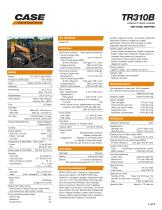 TR310B COMPACT TRACK LOADER TIER 4 FINAL CERTIFIED