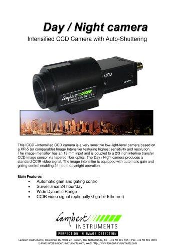 Day / Night, ICCD -intensified CCD camera