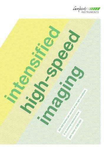 intensified high speed imaging HiCAM - HiCATT