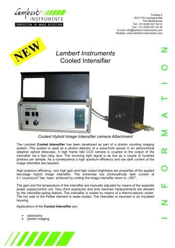Lambert Instruments Cooled Intensifier