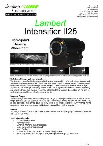 Lambert Intensifier II25