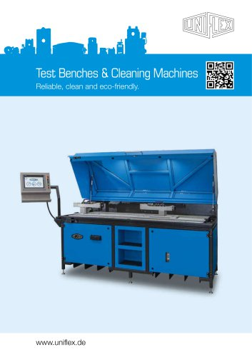 Test Benches & Cleaning Machines