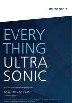 hps+ ultrasonic level sensors