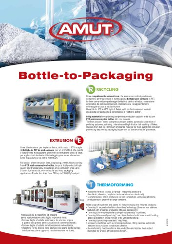 BOTTLE TO PACKAGING
