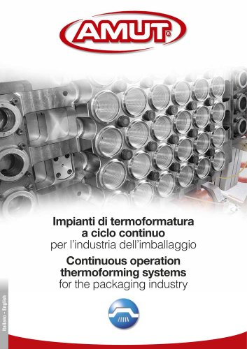 CONTINUOUS OPERATION THERMOFORMING SYSTEMS