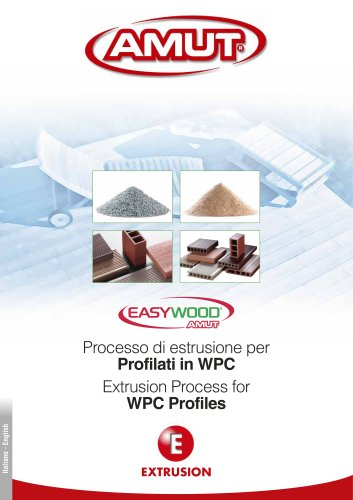 EXTRUSION PROCESS FOR WPC PROFILES