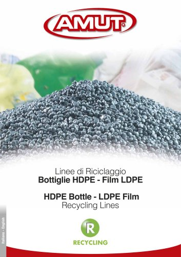 HDPE BOTTLE - LDPE FILM RECYCLING LINES