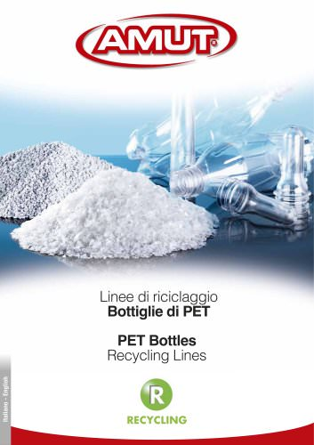 PET BOTTLES RECYCLING LINES