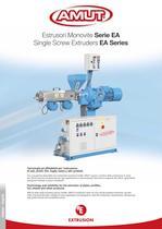 SINGLE SCREW EXTRUDERS / EA SERIES