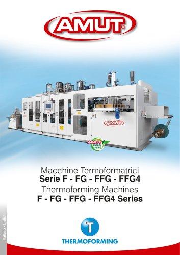 THERMOFORMING MACHINES SERIES F-FG-FFG-FFG4