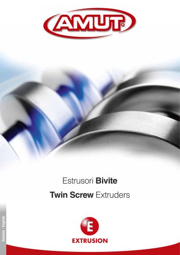 TWIN SCREW EXTRUDERS