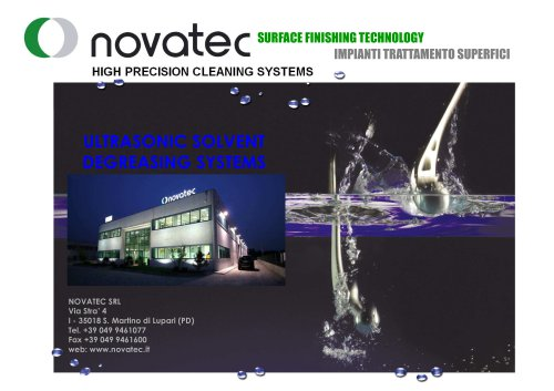 NOVATEC_presentation_SOLVENT_DEGREASING_SYSTEMS_-_new