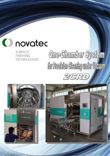 One-Chamber System for Precision Cleaning under Vacuum Mod. 2CRD