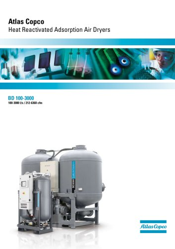 Atlas Copco Heat Reactivated Adsorption Air Dryers