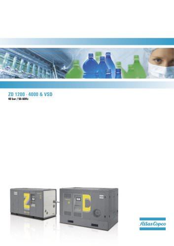 ZD 1200 - 4000 & VSD 40 bar / 50-60Hz