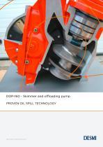 DOP-160 - Skimmer and offloading pump