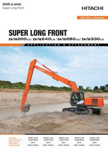 Super long front 20 to 33 tonnes