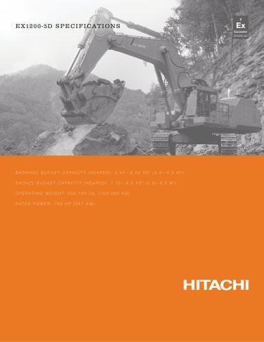 Hitachi Mining excavators