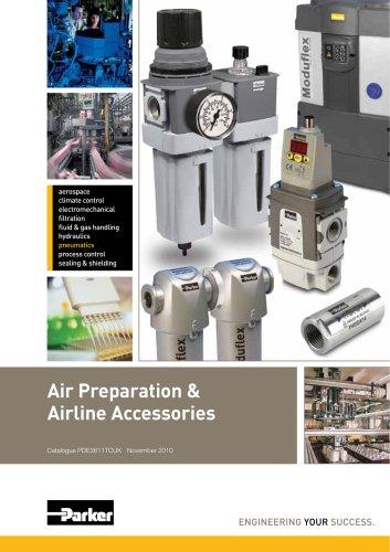 Air Preparation & Airline Accessories Platform Catalogue: PDE2611TCUK