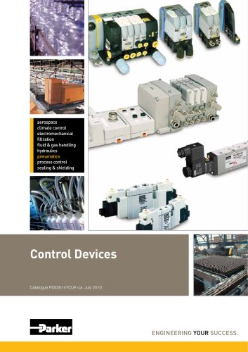 Control Devices Platform Catalogue: PDE2614TCUK