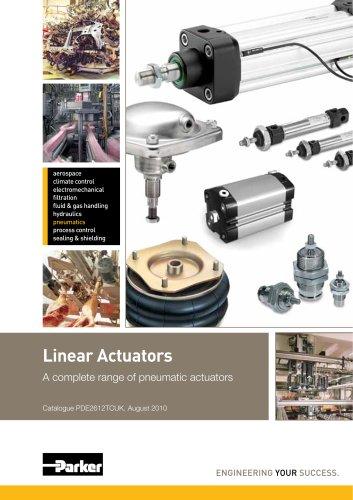 Linear Actuators Platform Catalogue: PDE2612TCUK