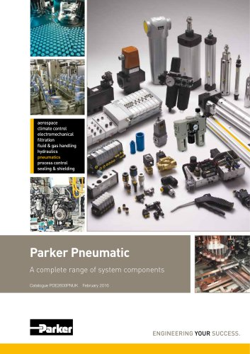 Parker Pneumatic A complete range of system components