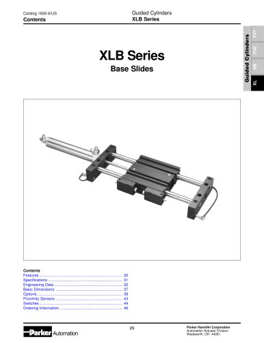 XLB Series Base Slides