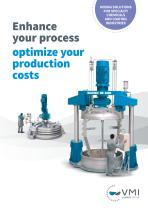 VMI - Industrial mixers for specialty chemicals