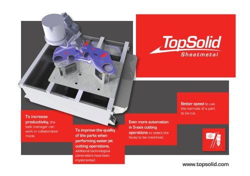 News Sheetmetal 2020 - TopSolid'Sheetmetal: The CAD/CAM solution for the sheet metal industry