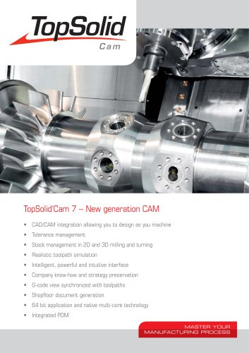 TopSolid Cam 7