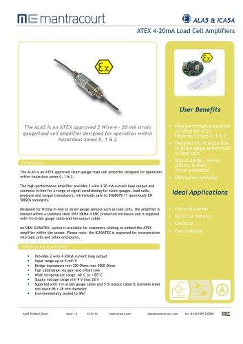 ALA5 Product sheet
