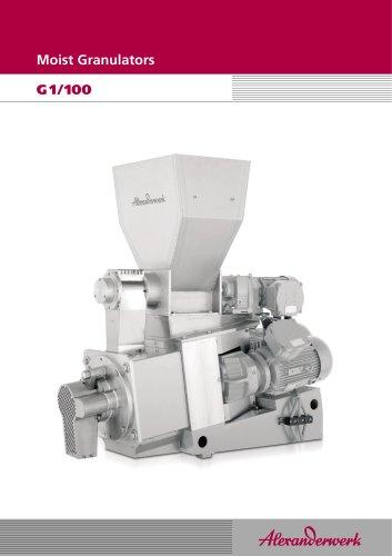 Moist Granulators G1/100