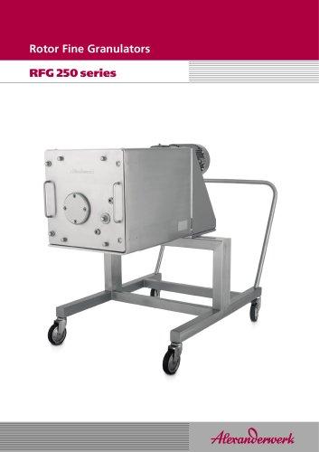 Rotor Fine Granulators RFG250series