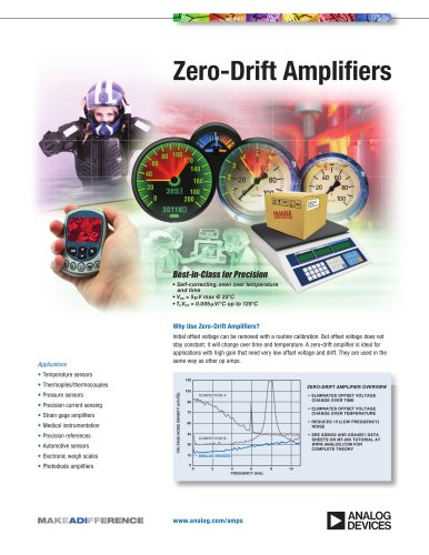 Zero-Drift Amplifiers