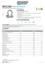 5050M : SUBSEA LOAD SHACKLES