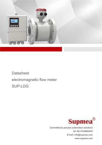 Electromagnetic flow meter(remote)