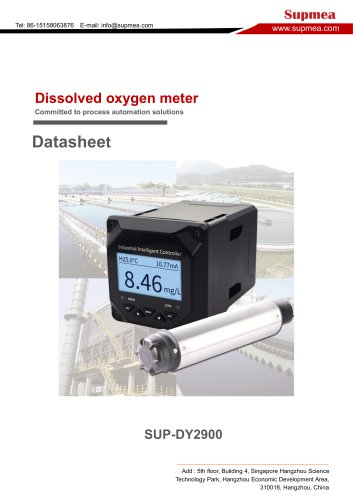 SUP-DY2900 dissolved oxygen meter