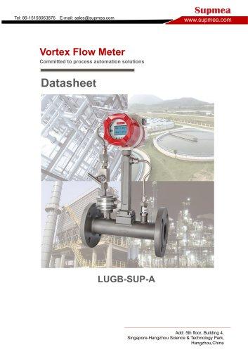 SUP-LUGB-A Vortex flow meter