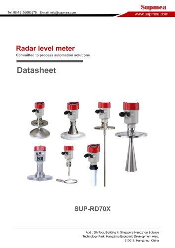 SUP-RD70 Radar level transmitter