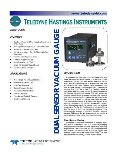 HPM 2002 digital vacuum gauge