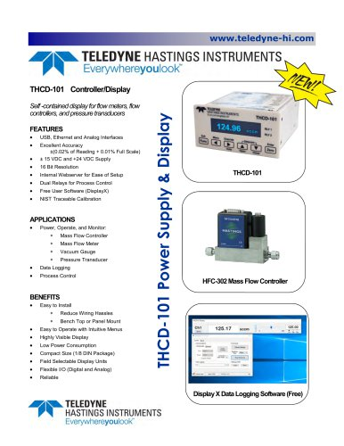 THCD-101 Product Bulletin