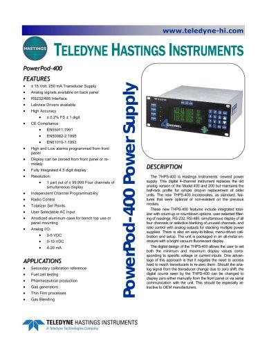 THPS-400 / PowerPod 400