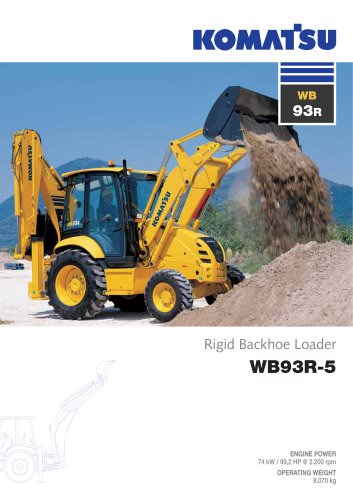 Backhoe Loaders WB93R-5