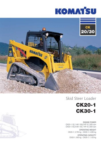 Crawler Skid Steer Loaders CK20-1