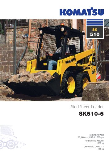Wheeled Skid Steer Loaders SK510-5