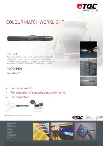 COLOR MATCHING LIGHTS