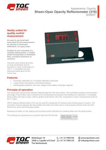 Sheen-Opac Opacity Reflectometer SH0657