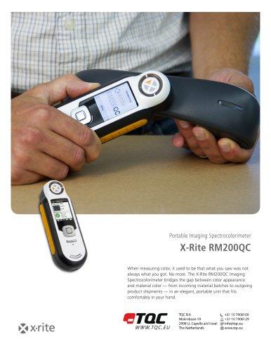 X-RITE RM200QC SPECTRALCOLORIMETER