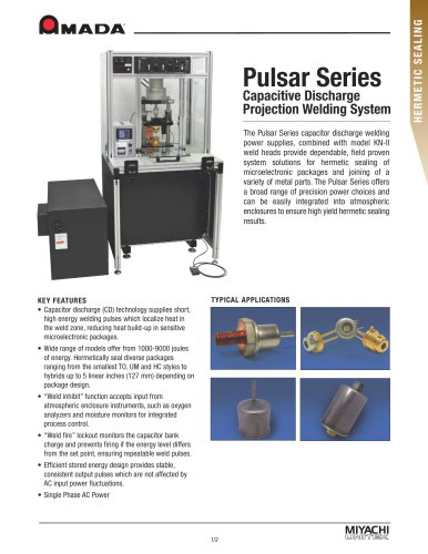 Benchmark Pulsar Series Capacitive Discharge Welder