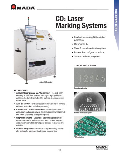 CO2 Laser Marking Systems